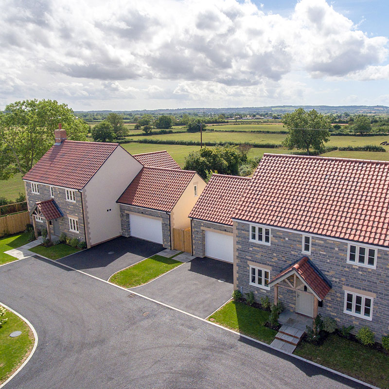 New Builds West Pennard, Somerset